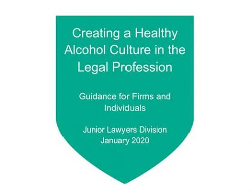 Creating a Healthy Alcohol Culture in the Legal Profession